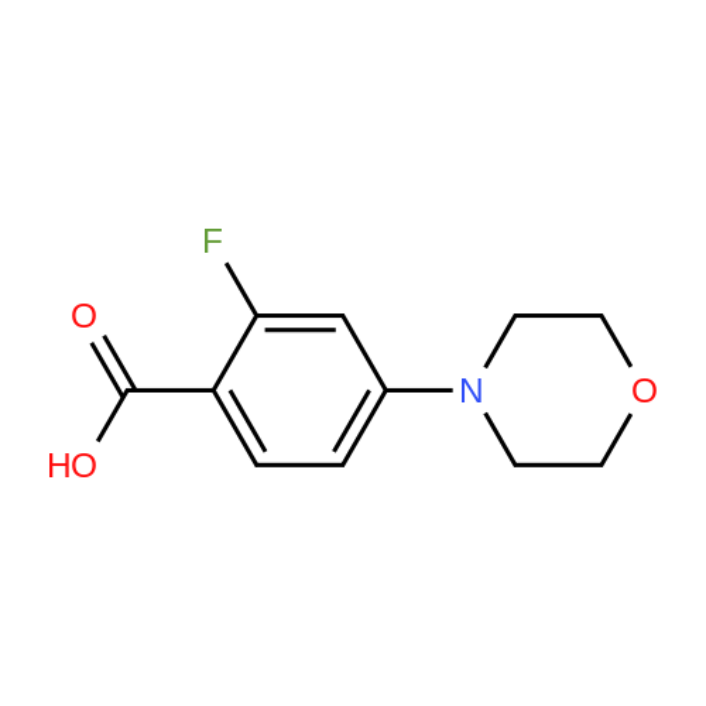 2-Fluoro-4-morpholinobenzoic acid