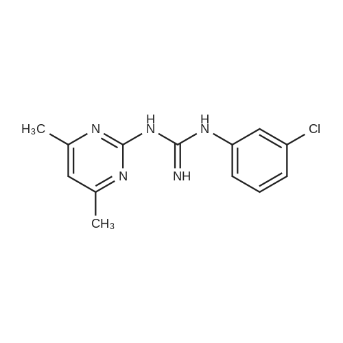 1-(3-Chlorophenyl)-3-(4,6-dimethylpyrimidin-2-yl)guanidine