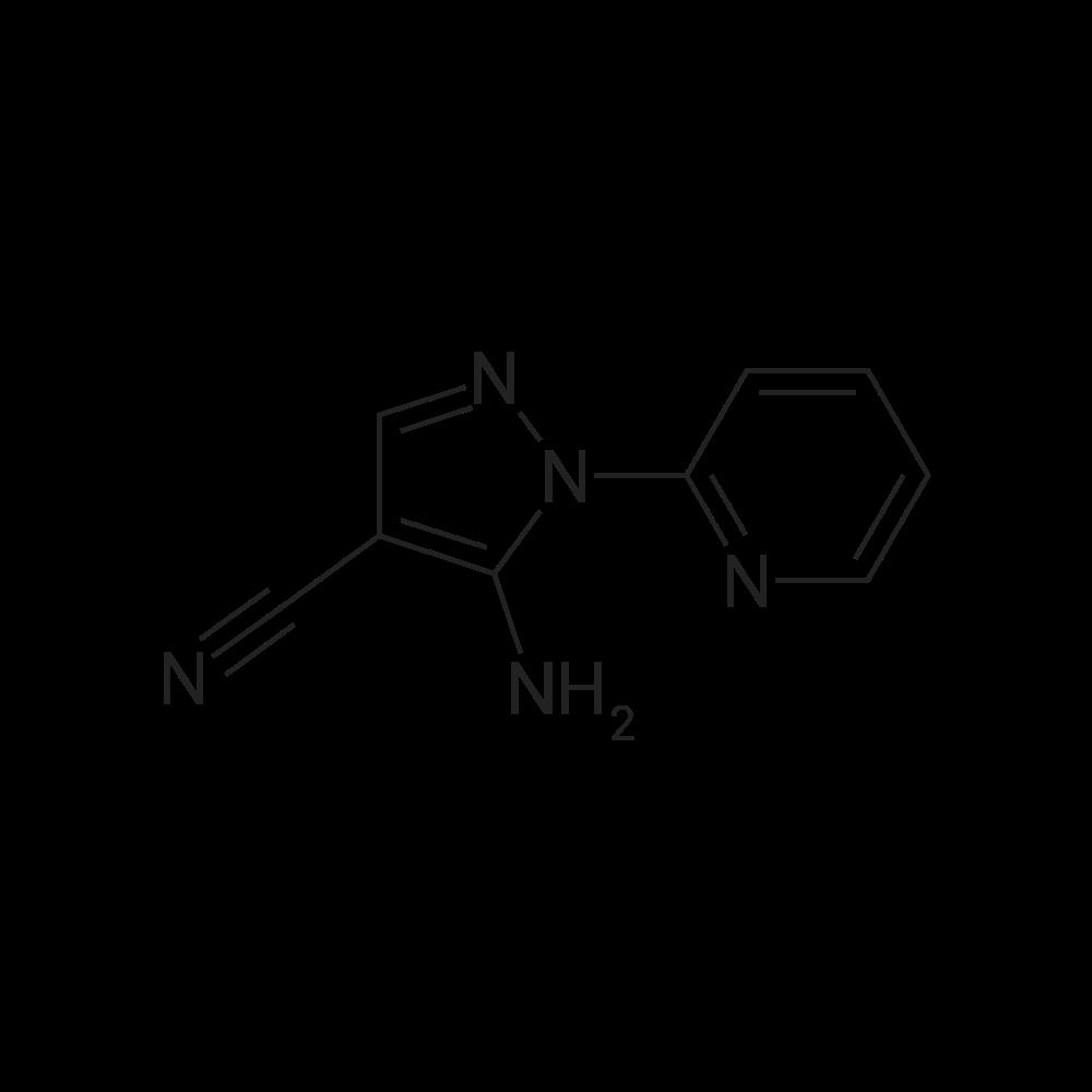 5-Amino-1-(pyridin-2-yl)-1H-pyrazole-4-carbonitrile