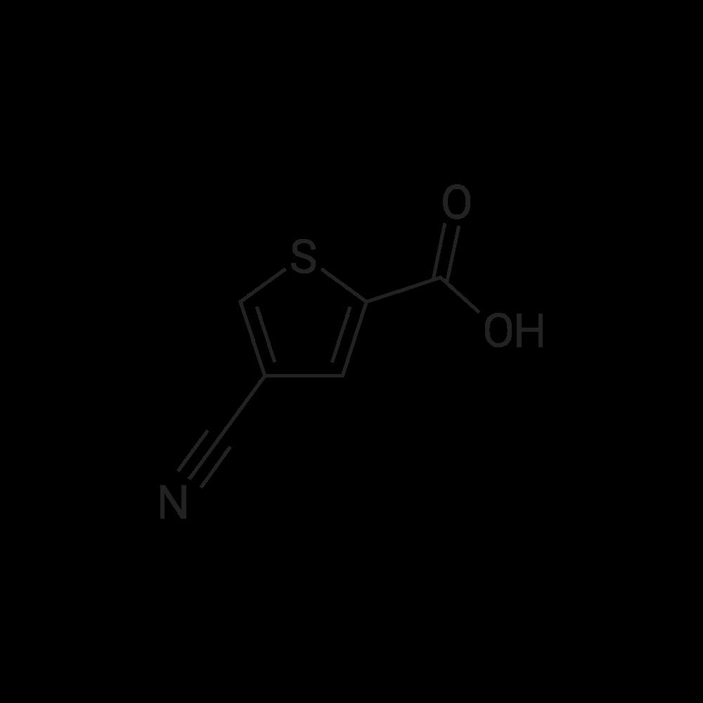 4-Cyanothiophene-2-carboxylic acid