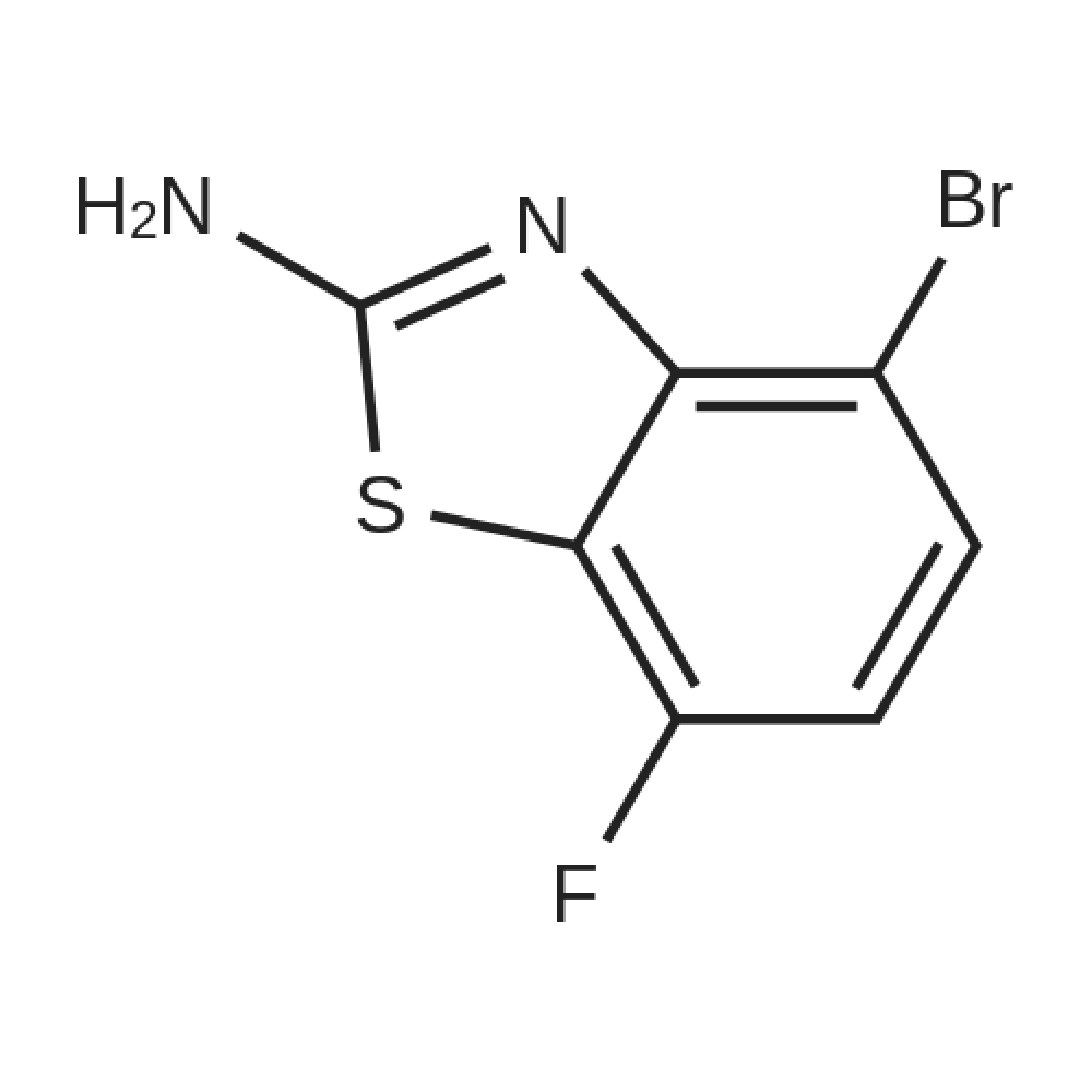 4-Bromo-7-fluorobenzo[d]thiazol-2-amine