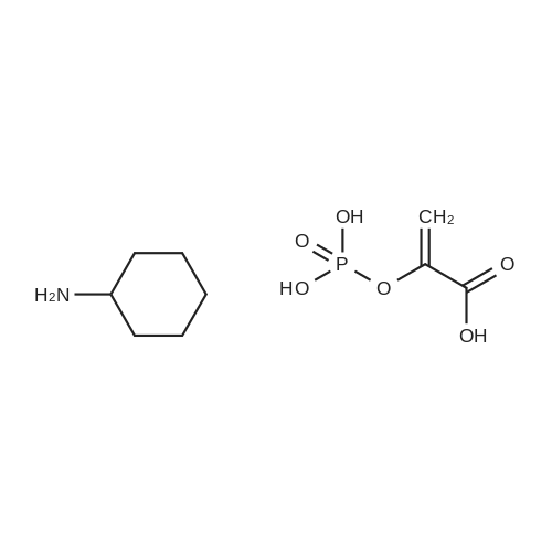 Phospho(enol)pyruvic acid cyclohexylammonium salt