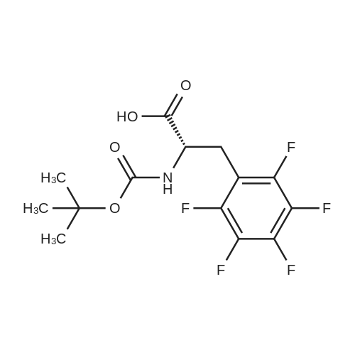 (S)-2-((tert-Butoxycarbonyl)amino)-3-(perfluorophenyl)propanoic acid