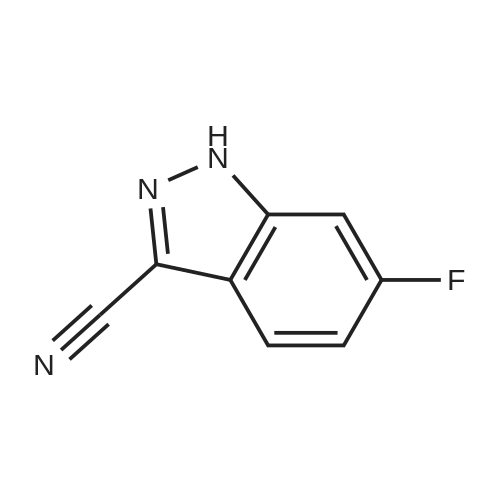 6-Fluoro-1H-indazole-3-carbonitrile