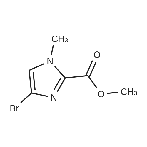 Methyl 4-bromo-1-methyl-1H-imidazole-2-carboxylate