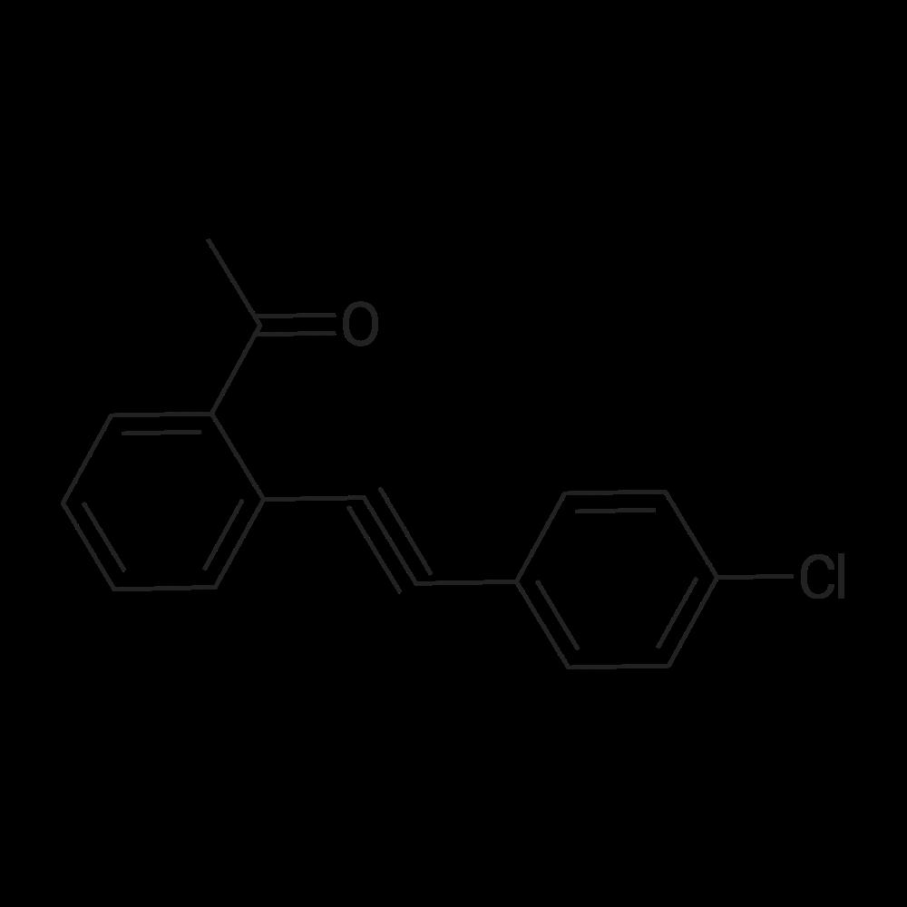 1-(2-((4-Chlorophenyl)ethynyl)phenyl)ethanone