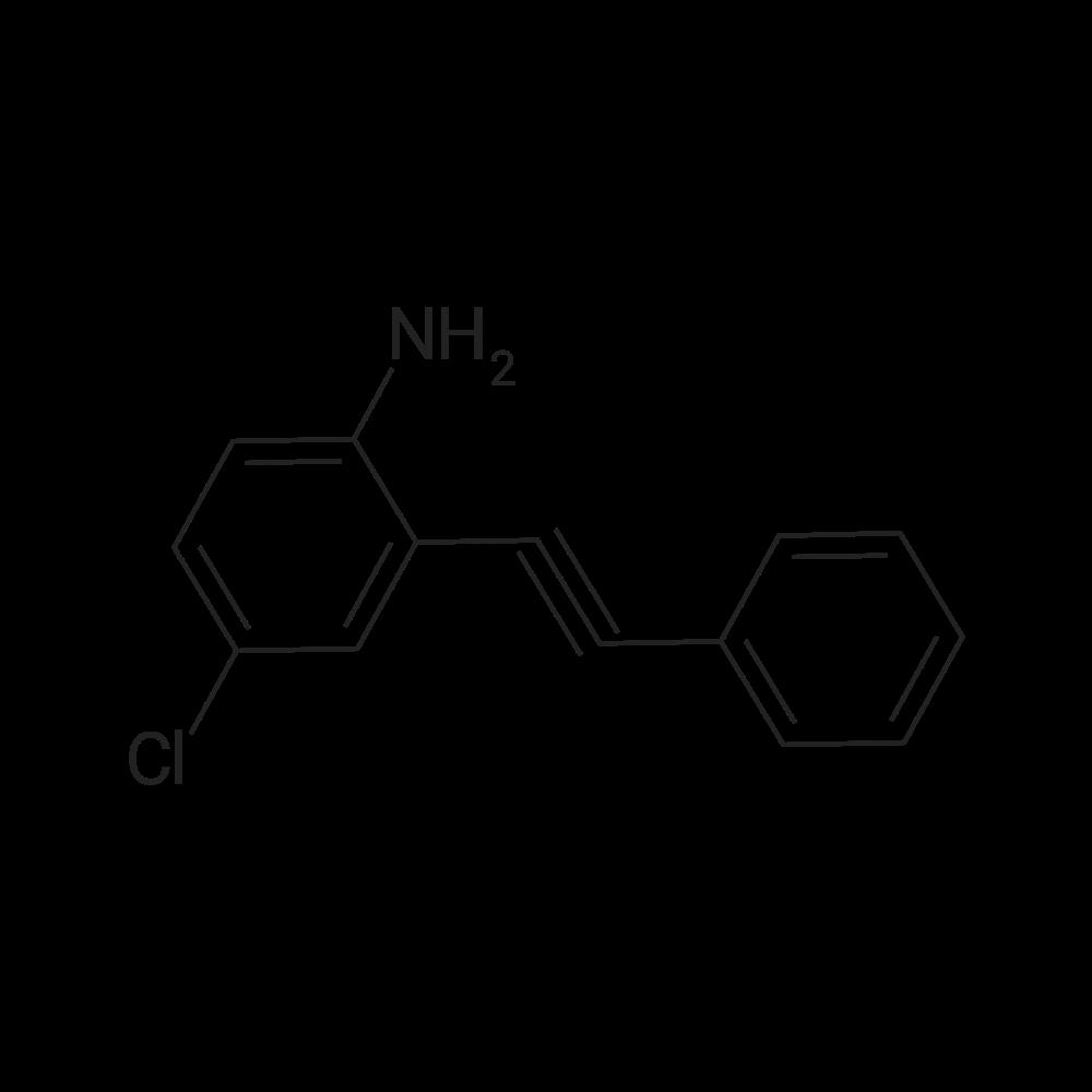 4-Chloro-2-(phenylethynyl)aniline