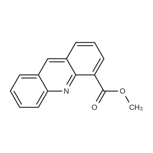 Methyl acridine-4-carboxylate