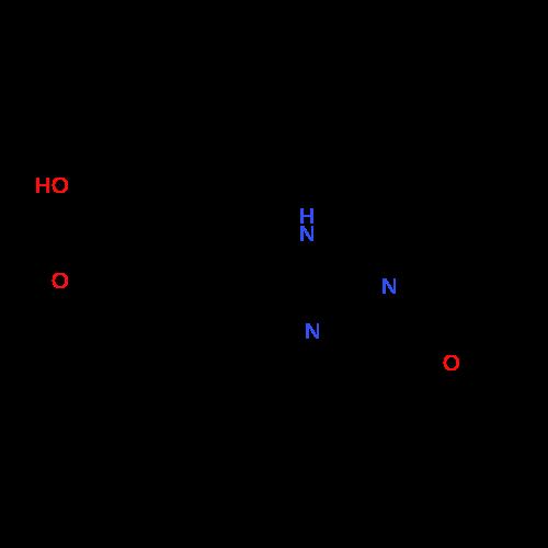 4-((1-Ethyl-5-oxo-4,5-dihydro-1H-imidazol-2-yl)amino)benzoic acid