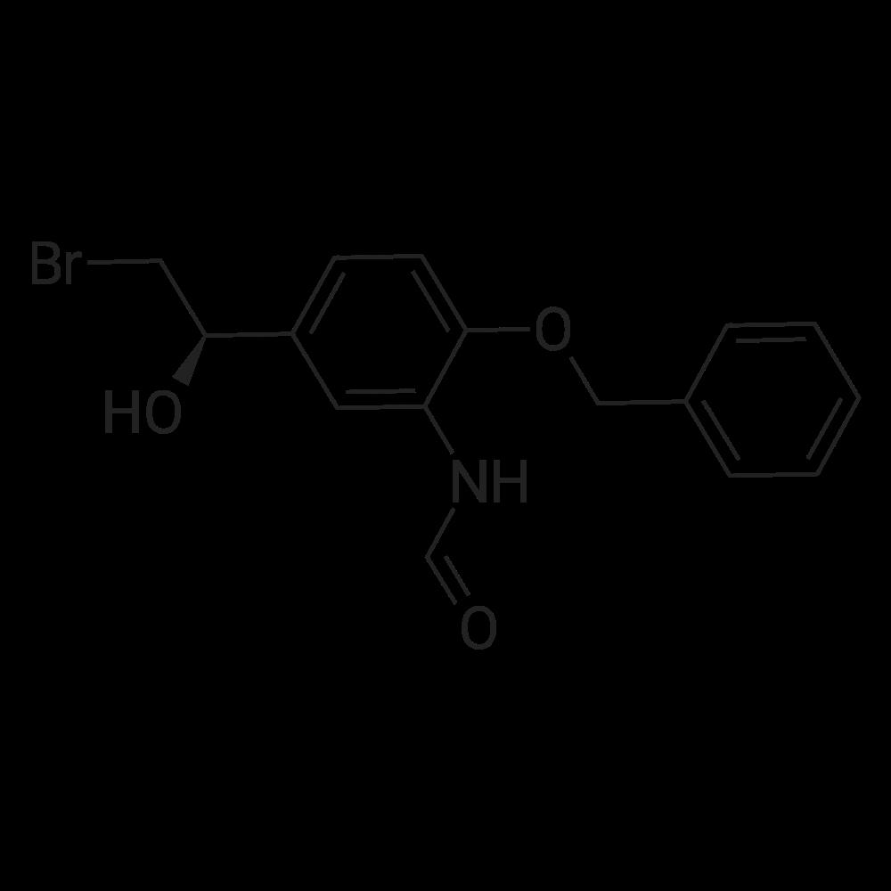 (R)-N-[5-(2-Bromo-1-hydroxyethyl)-2-(phenylmethoxy)phenyl]formamide
