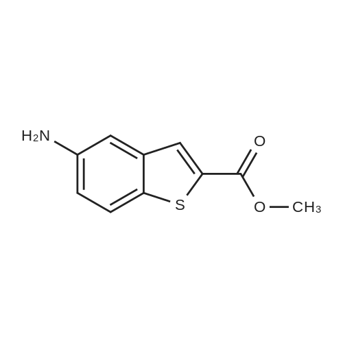 Methyl 5-aminobenzo[b]thiophene-2-carboxylate