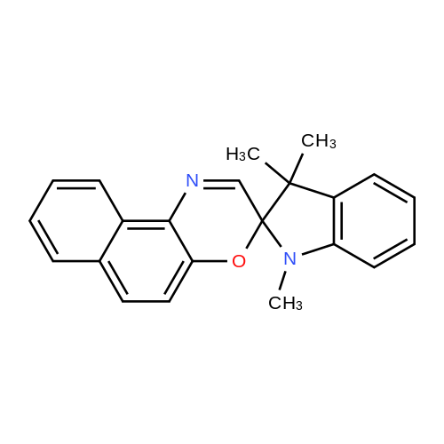 1,3,3-Trimethylspiro[indoline-2,3'-naphtho[2,1-b][1,4]oxazine]