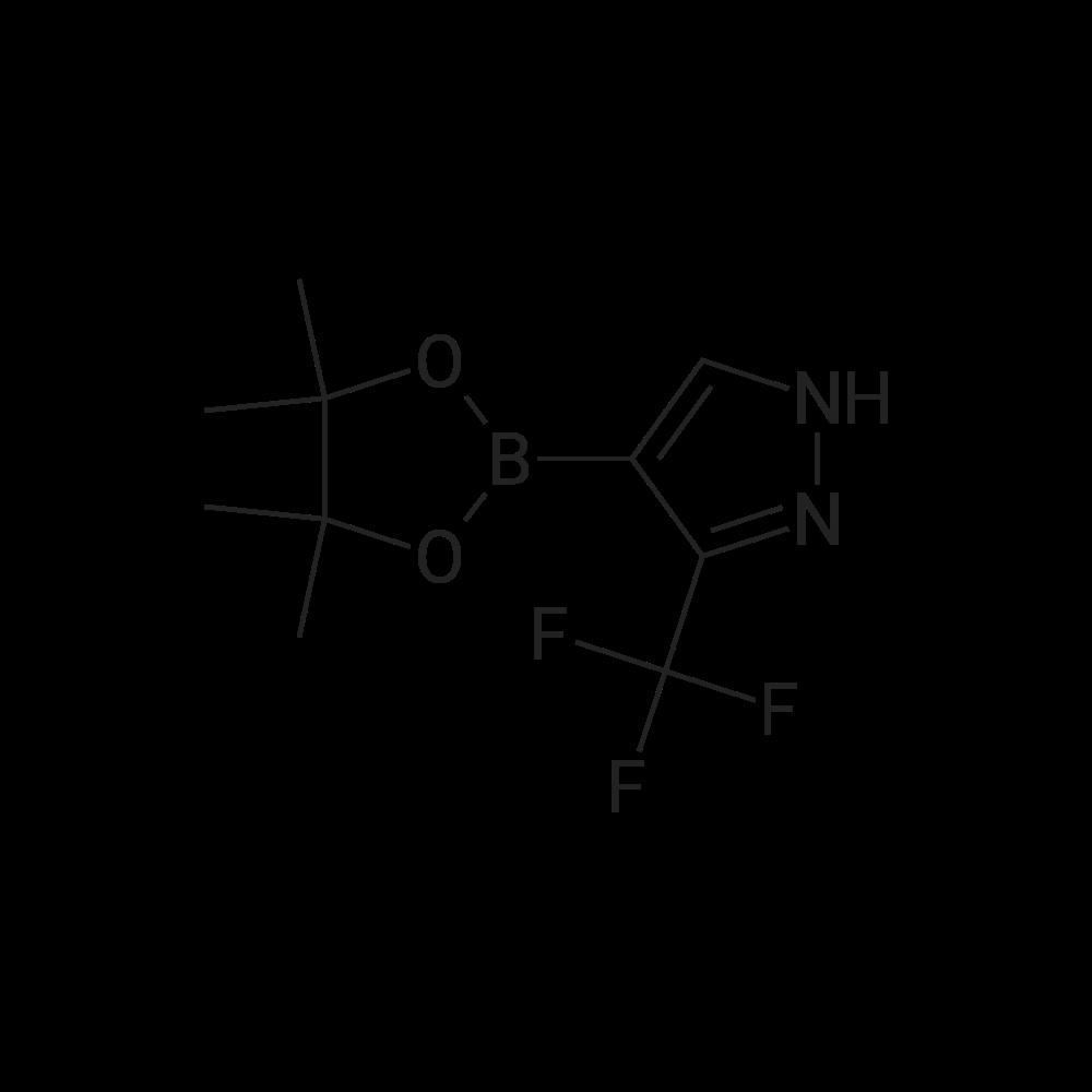 4-(4,4,5,5-Tetramethyl-1,3,2-dioxaborolan-2-yl)-3-(trifluoromethyl)-1H-pyrazole