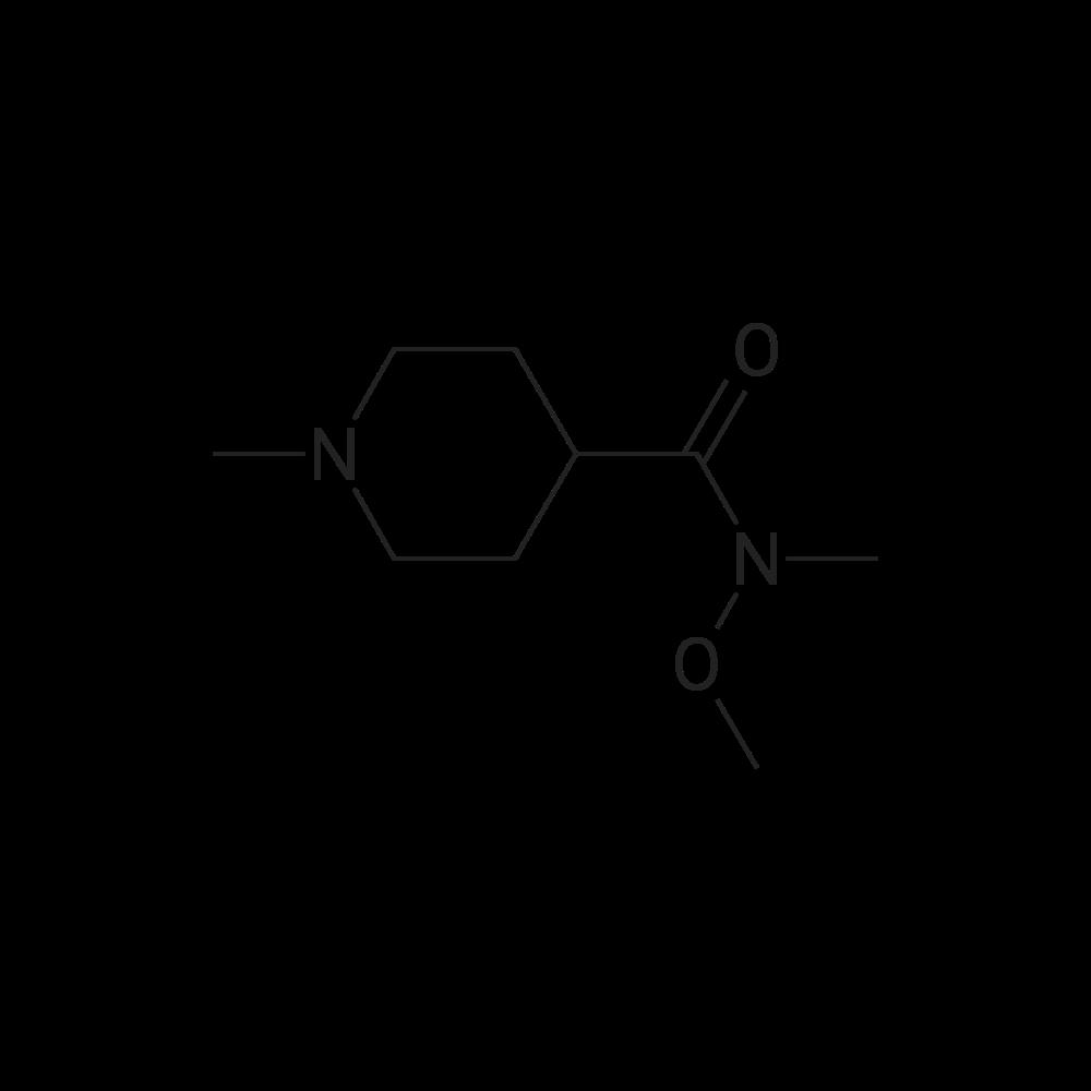N-Methoxy-N,1-dimethylpiperidine-4-carboxamide