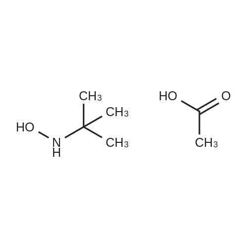 N-(tert-Butyl)hydroxylamine acetate