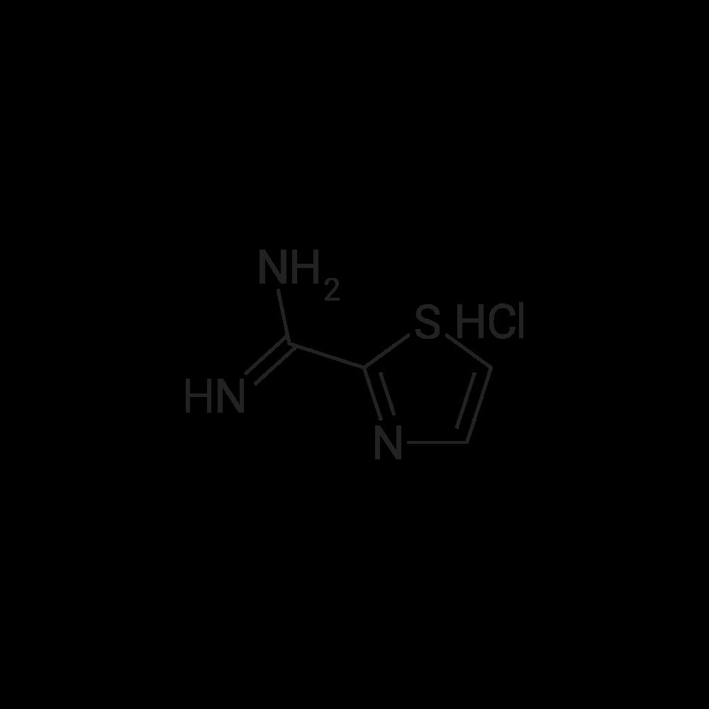 Thiazole-2-carboximidamide hydrochloride