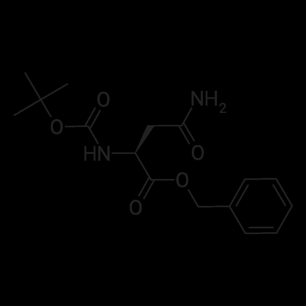 (S)-Benzyl 4-amino-2-((tert-butoxycarbonyl)amino)-4-oxobutanoate