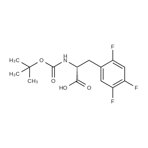 (R)-2-((tert-Butoxycarbonyl)amino)-3-(2,4,5-trifluorophenyl)propanoic acid