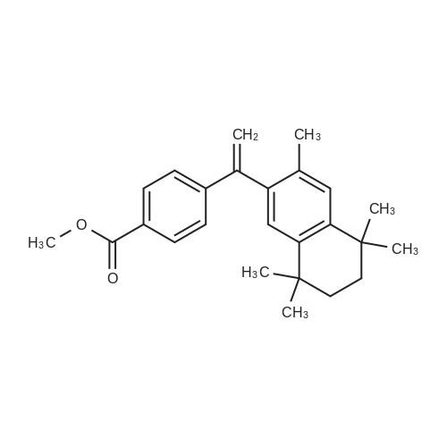 Methyl 4-(1-(3,5,5,8,8-pentamethyl-5,6,7,8-tetrahydronaphthalen-2-yl)vinyl)benzoate