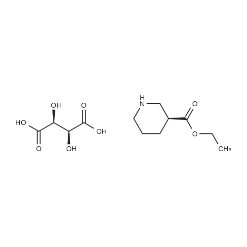 Ethyl (S)-3-Piperidinecarboxylate D-tartrate
