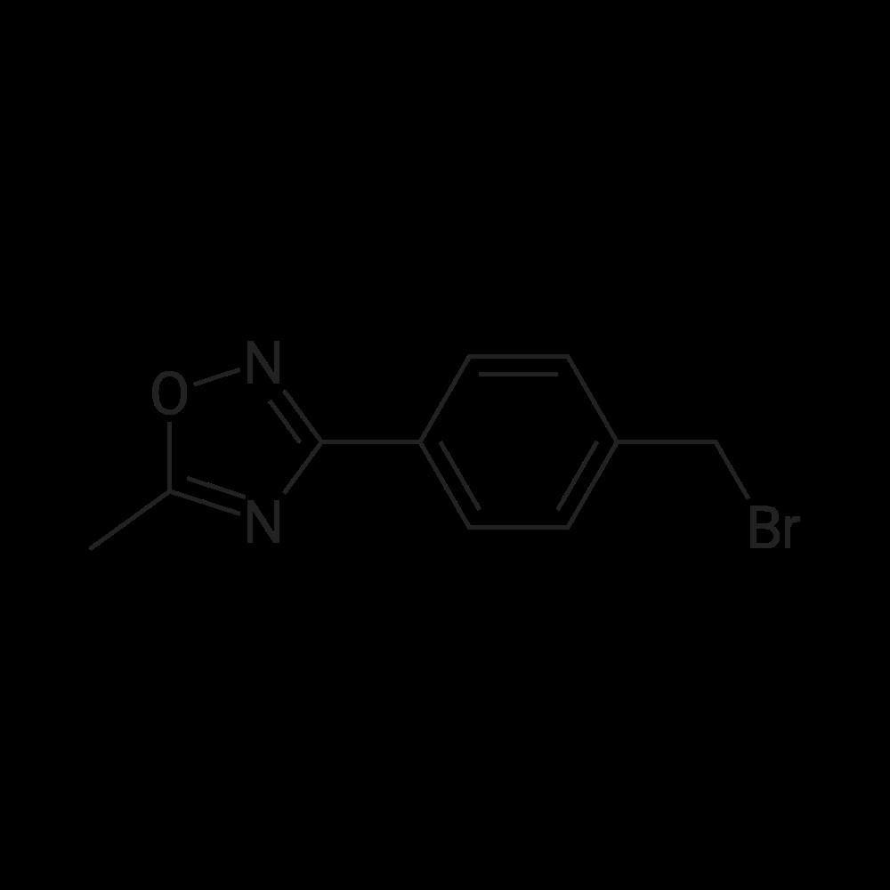 3-(4-(Bromomethyl)phenyl)-5-methyl-1,2,4-oxadiazole