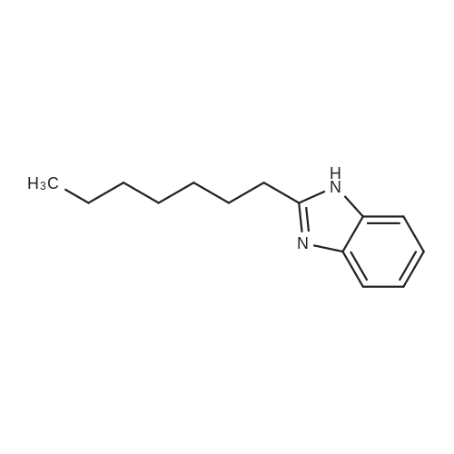2-Heptyl-1H-benzo[d]imidazole