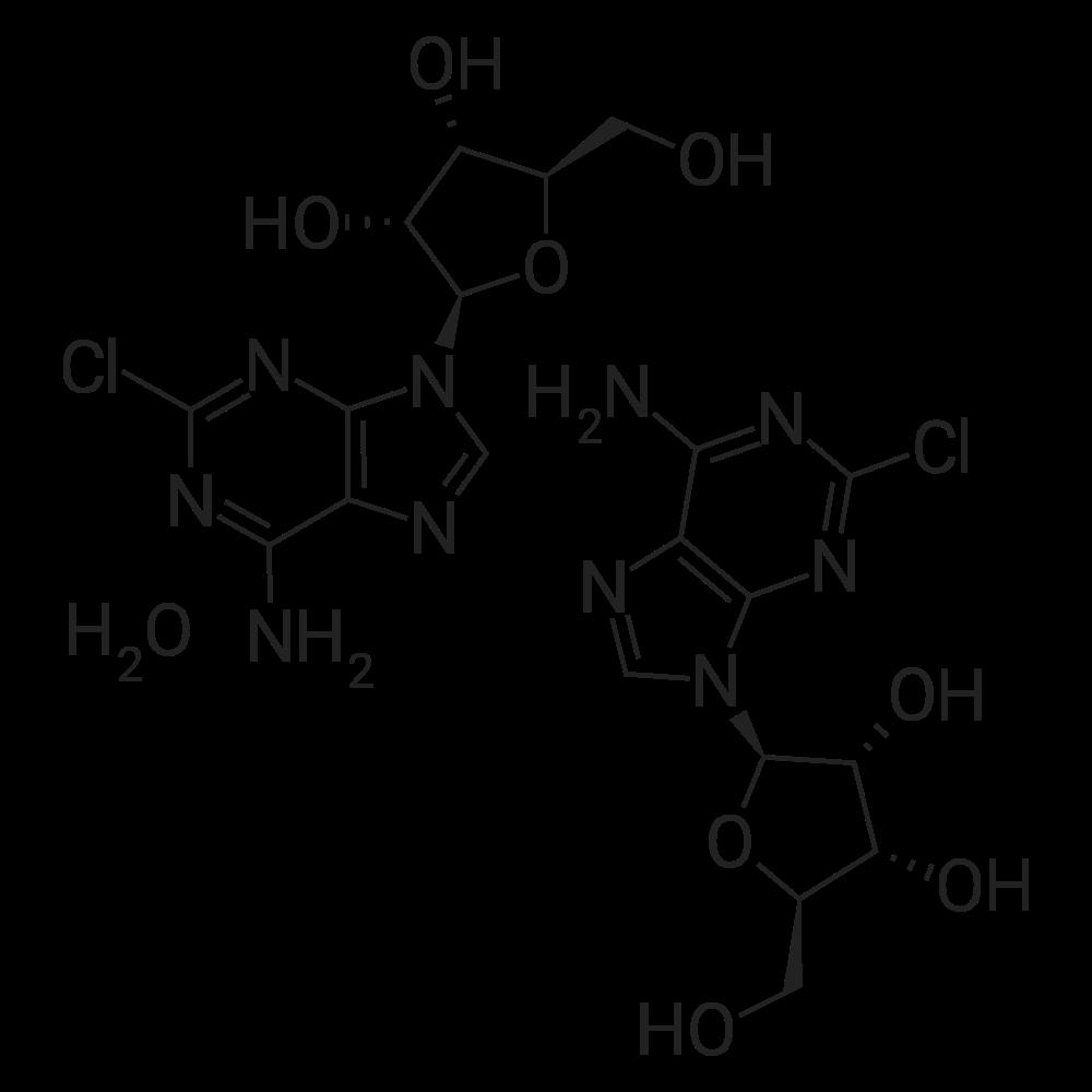 2-Chloroadenosine hemihydrate