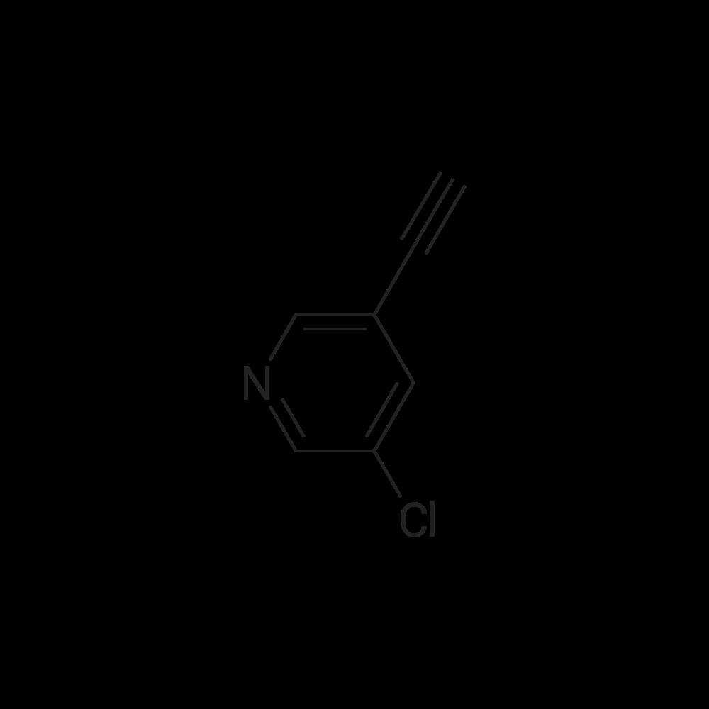 3-Chloro-5-ethynylpyridine