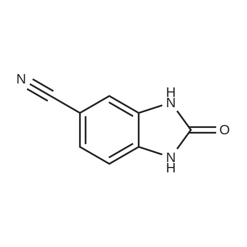 2-Oxo-2,3-dihydro-1H-benzo[d]imidazole-5-carbonitrile