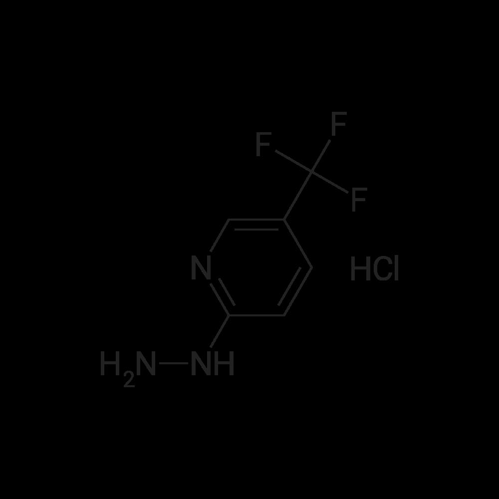 2-Hydrazino-5-(trifluoromethyl)pyridine, HCl