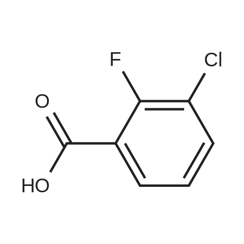3-Chloro-2-fluorobenzoic acid