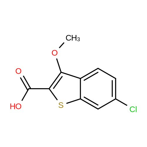 6-Chloro-3-methoxybenzo[b]thiophene-2-carboxylic acid