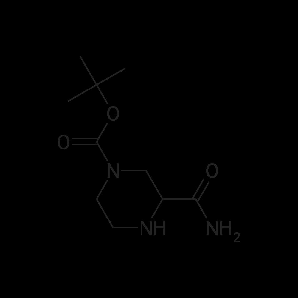 1-Boc-3-Carbamoylpiperazine