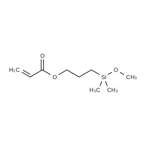 3-(Methoxydimethylsilyl)propyl Acrylate
