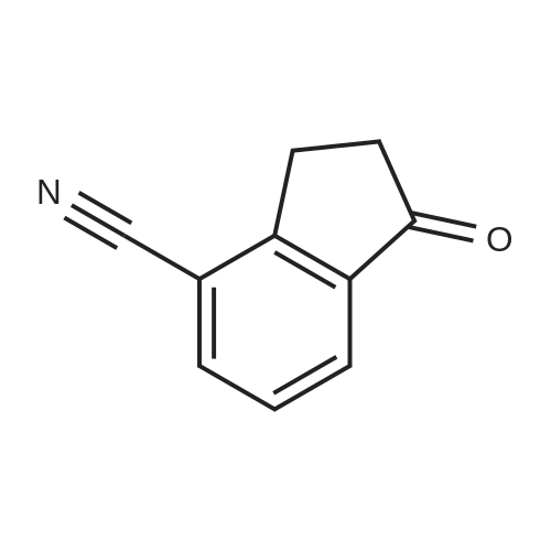 1-Oxo-2,3-dihydro-1H-indene-4-carbonitrile