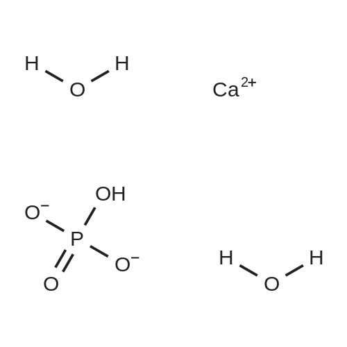Calcium hydrogenphosphate dihydrate