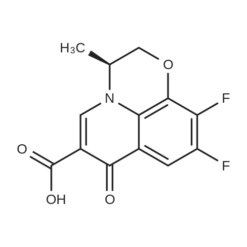 (S)-9,10-Difluoro-3-methyl-7-oxo-3,7-dihydro-2H-[1,4]oxazino[2,3,4-ij]quinoline-6-carboxylic acid