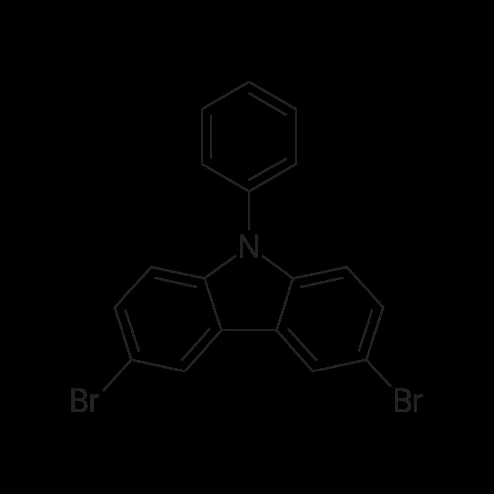 3,6-Dibromo-9-phenyl-9H-carbazole