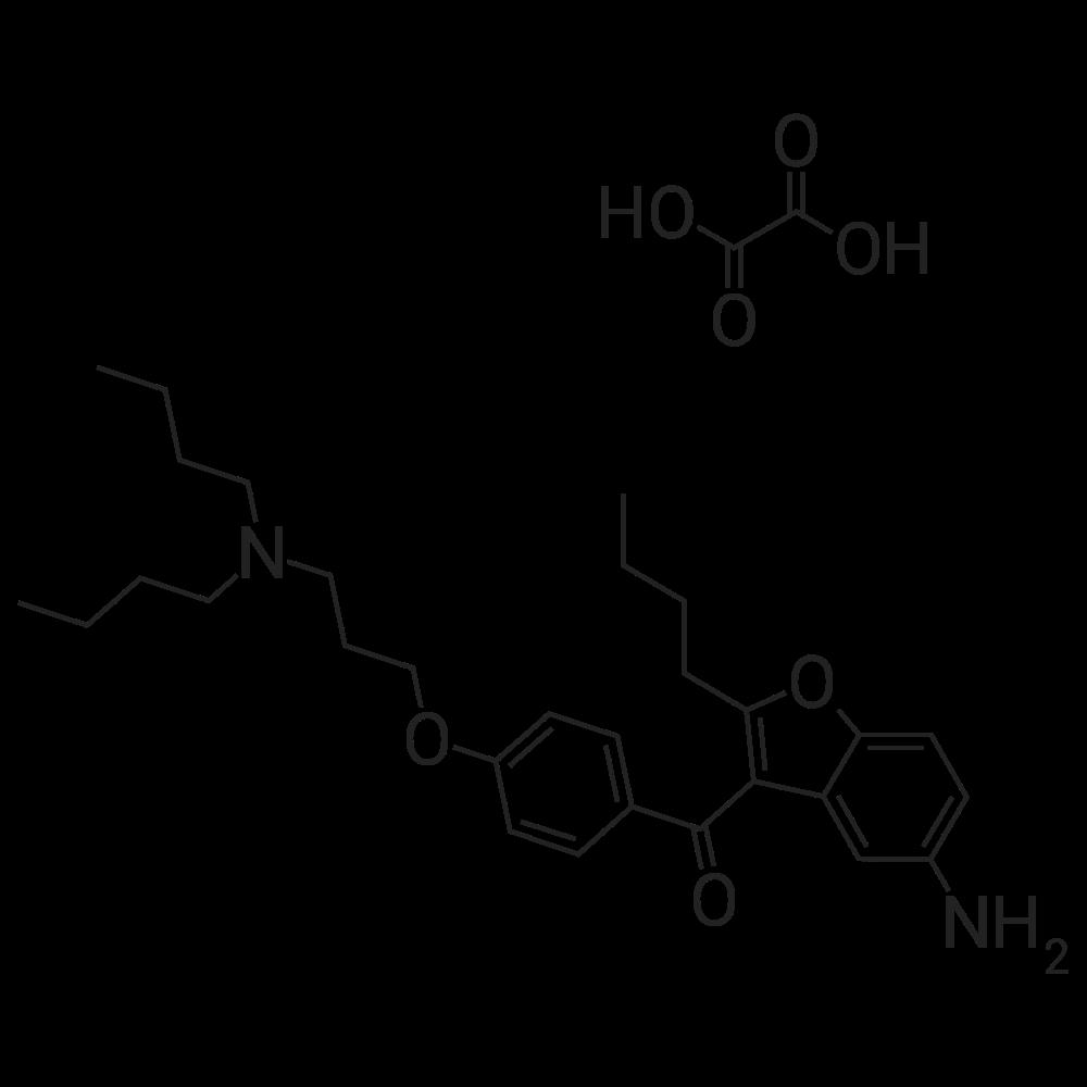 (5-Amino-2-butylbenzofuran-3-yl)(4-(3-(dibutylamino)propoxy)phenyl)methanone oxalate