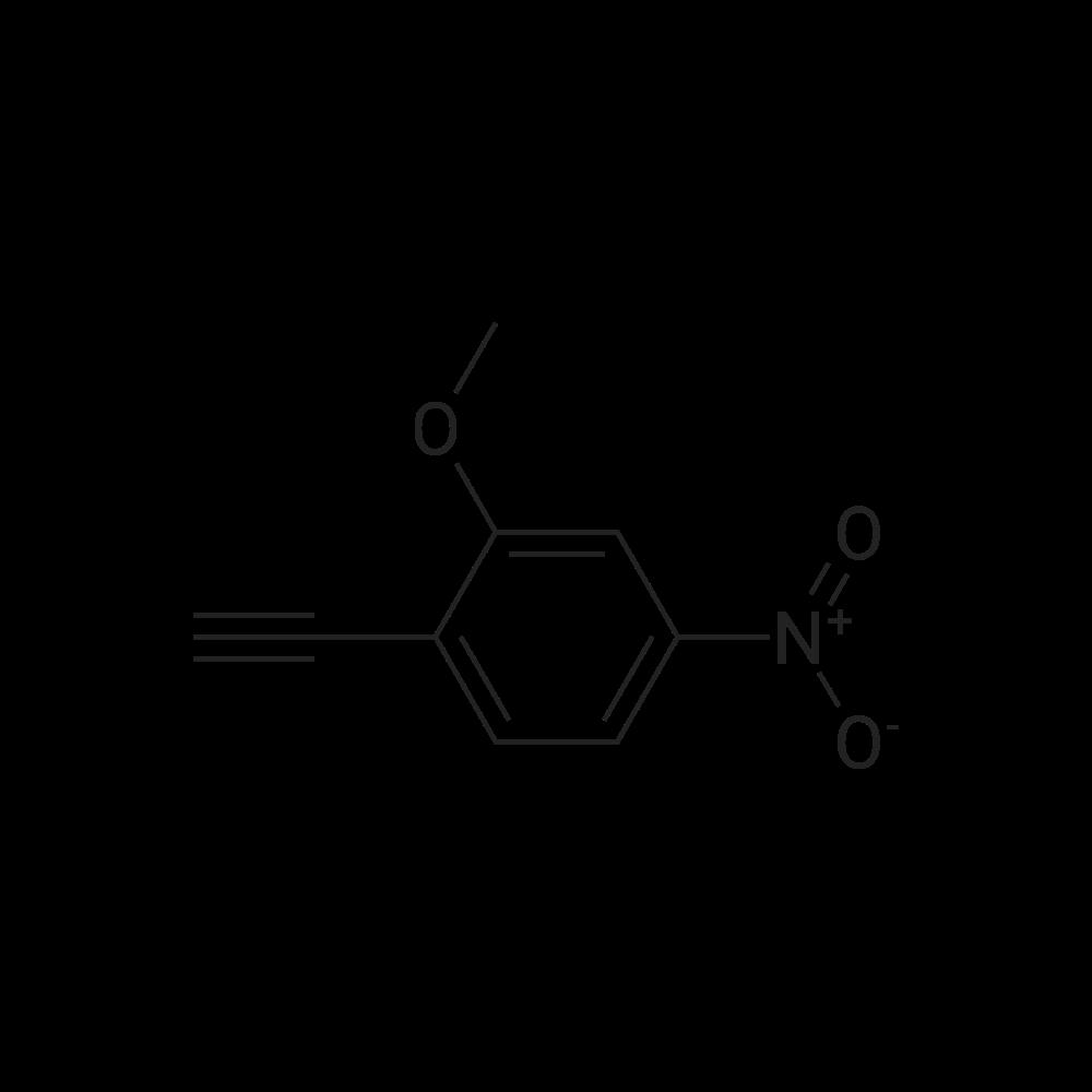 1-Ethynyl-2-methoxy-4-nitrobenzene