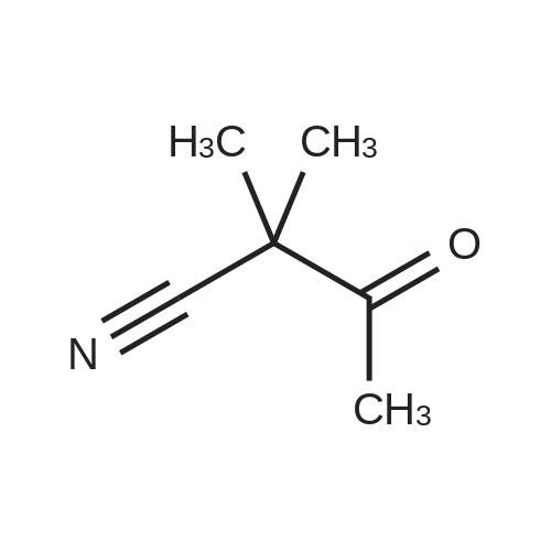 2,2-Dimethyl-3-oxobutanenitrile