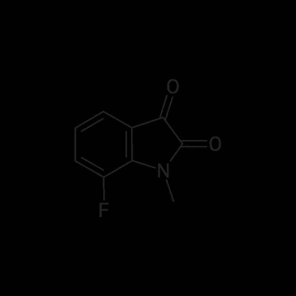 7-Fluoro-1-methylindoline-2,3-dione