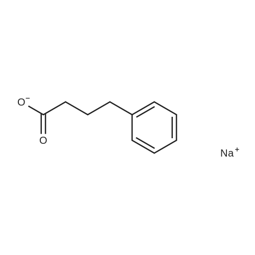 Sodium 4-phenylbutanoate