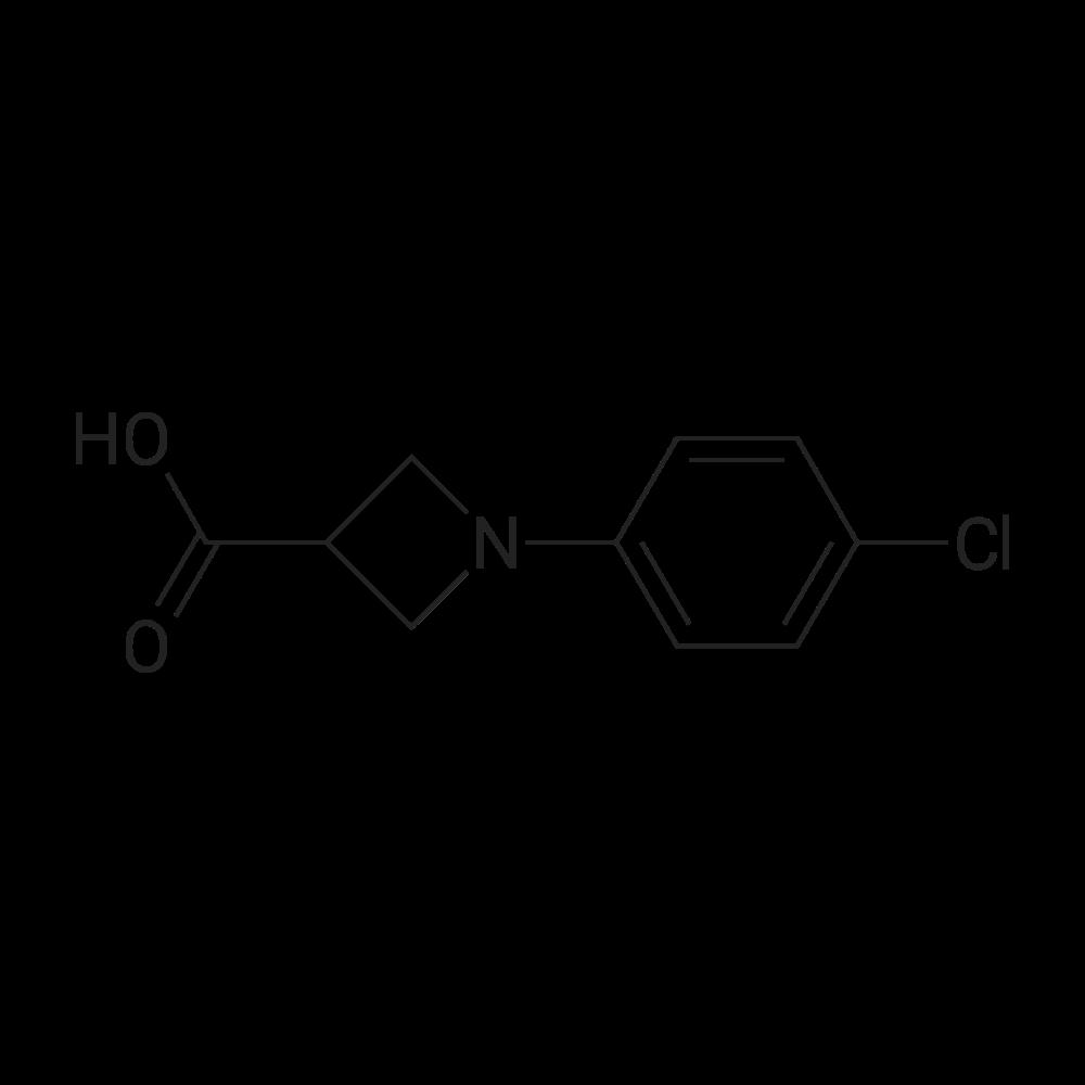 1-(4-Chlorophenyl)azetidine-3-carboxylic acid