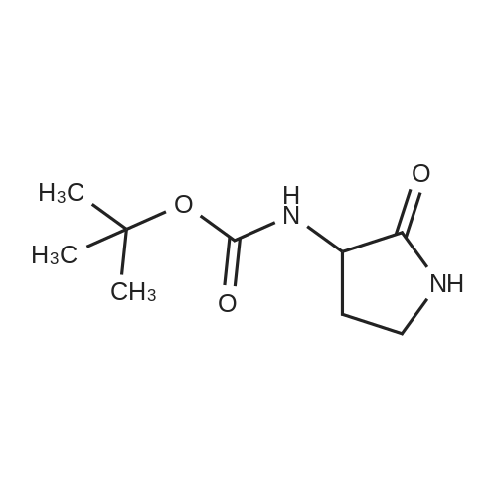 tert-Butyl (2-oxopyrrolidin-3-yl)carbamate