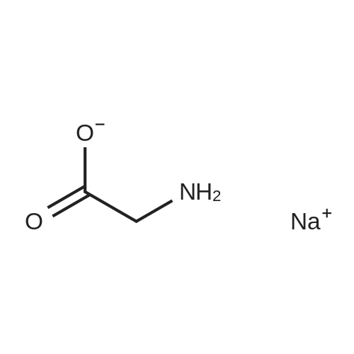 Sodium 2-aminoacetate