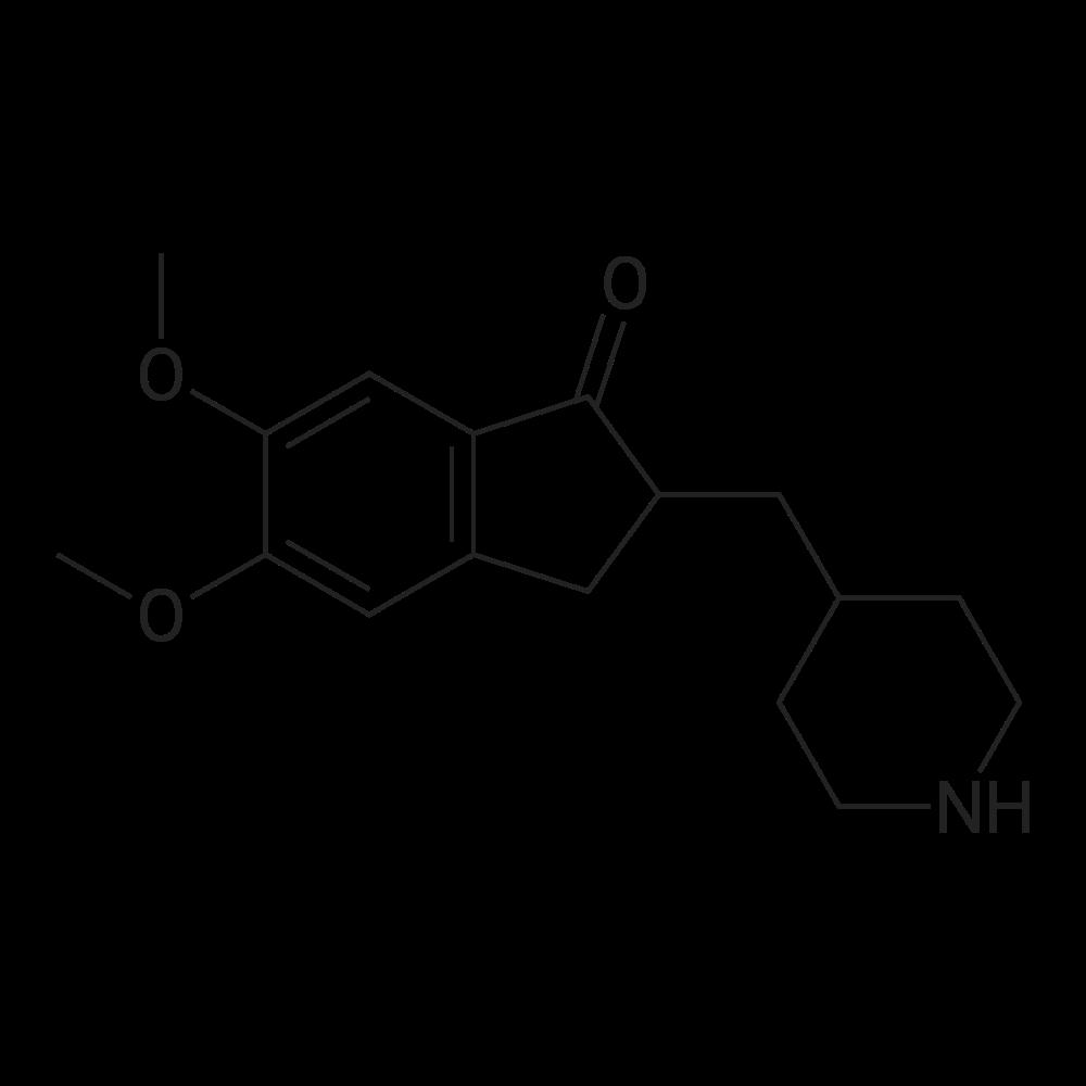 5,6-Dimethoxy-2-(piperidin-4-ylmethyl)-2,3-dihydro-1H-inden-1-one