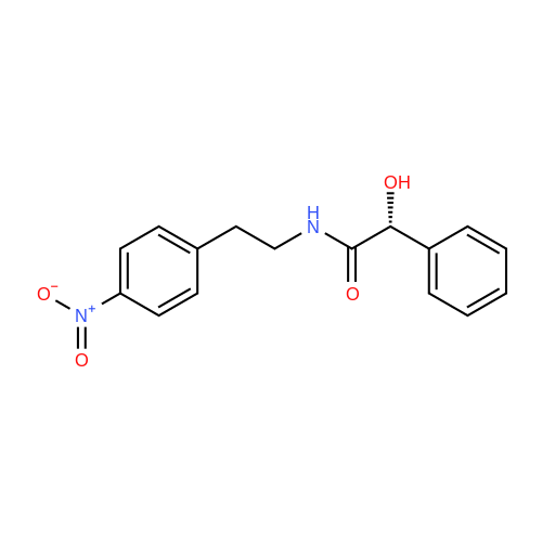 (R)-2-Hydroxy-N-(4-nitrophenethyl)-2-phenylacetamide