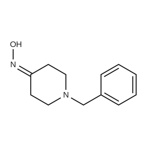 1-Benzylpiperidin-4-one oxime