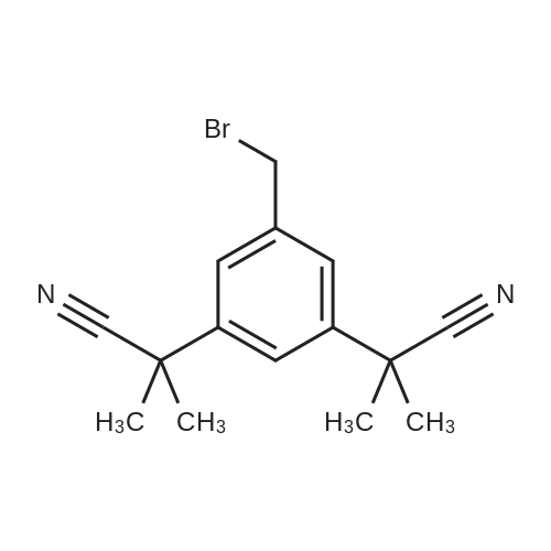 2,2'-(5-(Bromomethyl)-1,3-phenylene)bis(2-methylpropanenitrile)